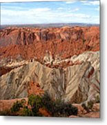 The Great Upheaval Dome Metal Print