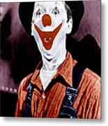 The Greatest Show On Earth, James Metal Print