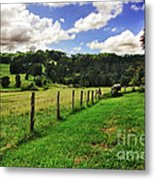 The Green Green Grass Of Home Metal Print