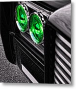 The Green Hornet - Black Beauty Close Up Metal Print