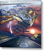The Grinder Metal Print by Patrick Anthony Pierson