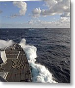 The Guided-missile Destroyer Uss Nitze Metal Print