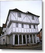 Thaxted Guildhall Metal Print
