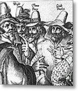 The Gunpowder Rebellion, 1605 Metal Print