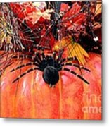 The Harvest Spider Metal Print