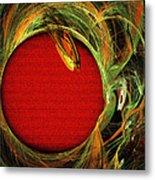 The Heart Of A Snake Metal Print