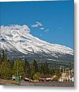 The Heart Of Mount Shasta Metal Print