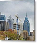 The Heart Of The City - Philadelphia Pennsylvania Metal Print by Mother Nature