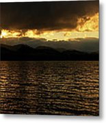 The Heavens Opened Metal Print