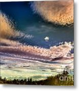 The Heavy Clouds Metal Print