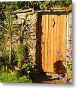 The Hidden Doorway Metal Print