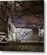 The Hideout Metal Print by Ron Jones