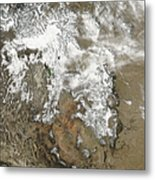 The High Peaks Of The Rocky Mountains Metal Print