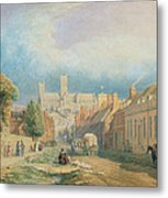 The High Street Lincoln  Metal Print