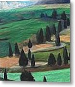 The Hill Metal Print