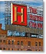 The History Channel Metal Print