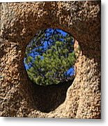 The Hole In The Boot Metal Print