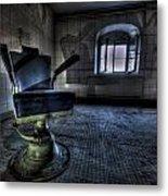 The Horror Chair Metal Print