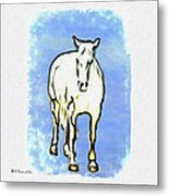 The Horse Metal Print by Bill Cannon