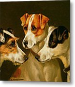 The Hounds Metal Print
