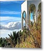 The House In The Clouds Metal Print