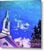 The House Of Men Under The House Of God Metal Print