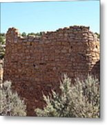 The Hovenweep Twin Towers Metal Print
