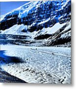 The Ice Fields Metal Print