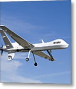 The Ikhana Unmanned Aircraft Metal Print