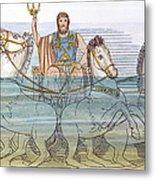 The Iliad: Neptune, 1805 Metal Print