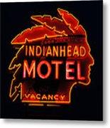 The Indianhead Metal Print