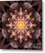 The Inner Radiance Metal Print