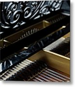 The Inside Of A Piano Metal Print by Studio Blond