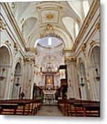 The Interior Of Santa Maria Assunta Metal Print