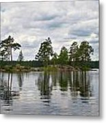 The Island In The Middle Metal Print