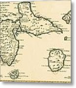 The Islands Of Guadeloupe Metal Print