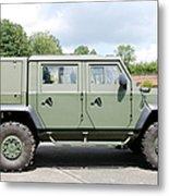 The Iveco Light Mulirole Vehicle Metal Print