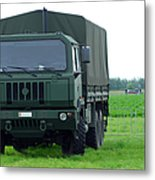 The Iveco M250 8 Ton Truck Metal Print by Luc De Jaeger