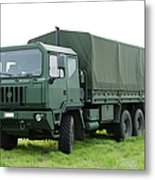 The Iveco M250 Used By The Belgian Army Metal Print