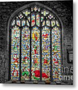 The Jesse Window  Metal Print