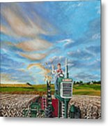 The Journey Of A Farmer Metal Print