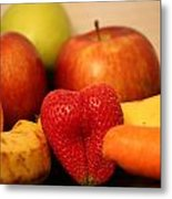 The Joy Of Fruit In The Morning Metal Print by Andrea Nicosia