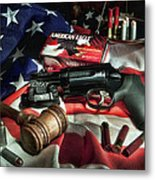 The Judge Metal Print