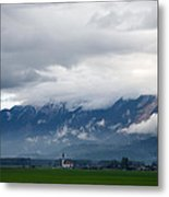 The Kamnik Alps After A Storm Metal Print