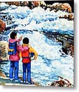 The Kayak Racer 14 Metal Print