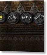 The Keg Room Version 6 Metal Print