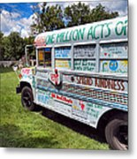The Kindness Bus 1 Metal Print