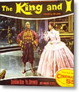 The King And I, Yul Brynner, Deborah Metal Print