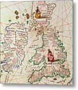 The Kingdoms Of England And Scotland Metal Print