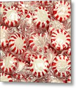 The Land Of Peppermint Candy Square Metal Print